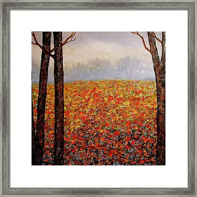 Misty Morning Framed Print by Heather Matthews