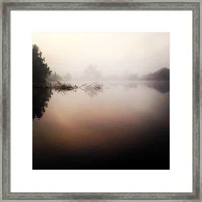 Misty Morning #iphone5 Framed Print