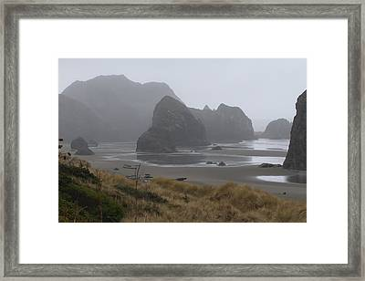 Misty Morning Framed Print by Margaret Buchanan