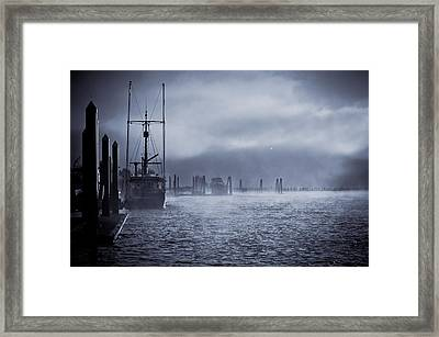 Misty Morning Framed Print by Michael Connor