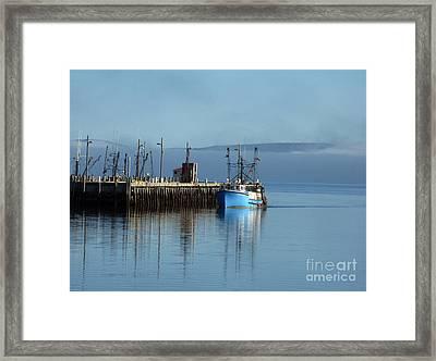 Misty Morning Framed Print by Patricia Januszkiewicz