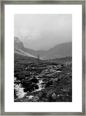 Misty Russel Burn Framed Print