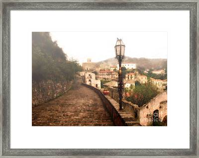 Misty Savoca  Framed Print by Mike Nellums