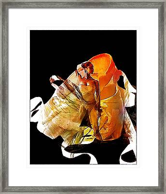 Misty Shoes Framed Print