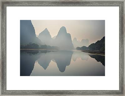 Misty Sunrise 1 Framed Print