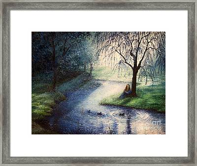 Misty Thoughts Framed Print
