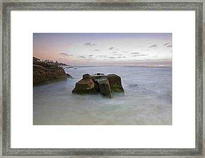 Misty Waters Framed Print by Peter Tellone
