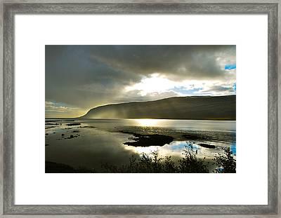 Misty Westfjords Framed Print