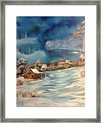 Misty Winter Framed Print by Nick