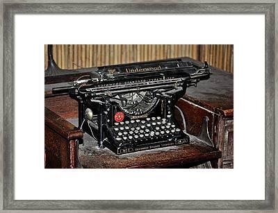 Misunderstood Framed Print by Catherine Renzini