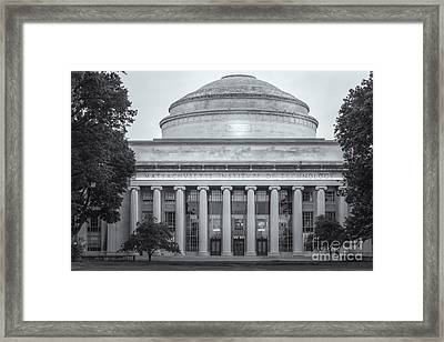 Mit Building 10 And Great Dome II Framed Print