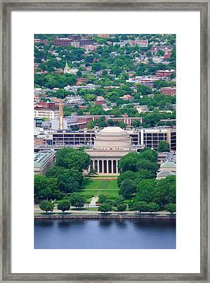 MIT Framed Print