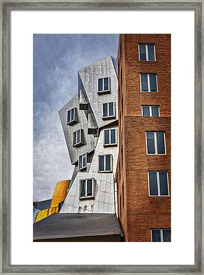 Mit Stata Building Center - Cambridge II Framed Print