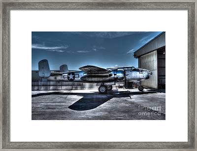 Mitchell B-25j Framed Print