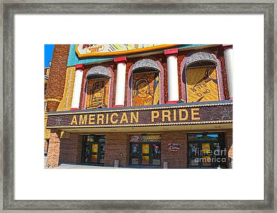Mitchell Corn Palace - 02 Framed Print by Gregory Dyer