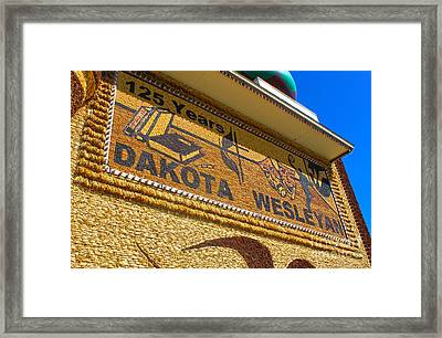 Mitchell Corn Palace - 04 Framed Print by Gregory Dyer