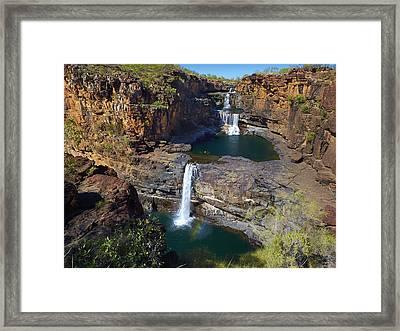 Mitchell Falls Mitchell Plateau Framed Print