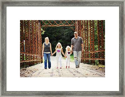 Mitchell Family Framed Print