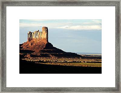 Mitchell Mesa Framed Print