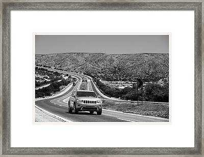 Mitchell Point I25 New Mexico             Framed Print by Mark Goebel