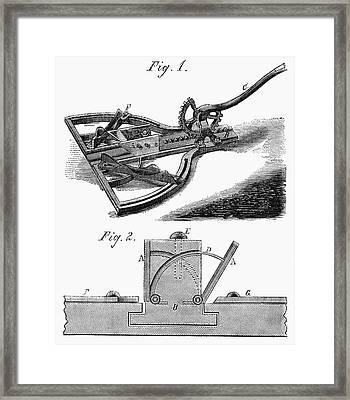Mitering Tool, 1867 Framed Print by Granger