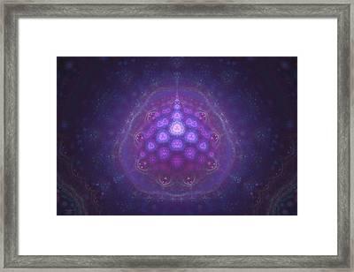 Mitochondria Arrive Framed Print by Justin Sanchez