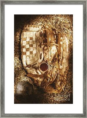 Mitts And Squiggles  Framed Print by Jorgo Photography - Wall Art Gallery