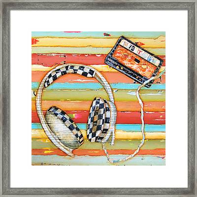 Mix Tape Framed Print by Danny Phillips