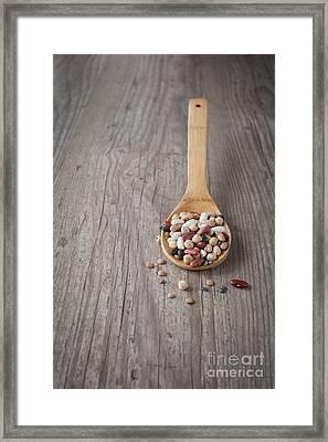 Mixed Beans Framed Print by Sabino Parente