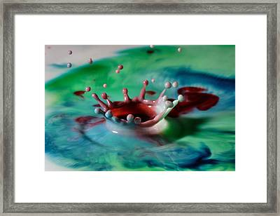 Mixed Colors Framed Print