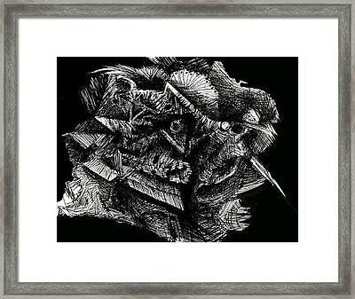 Mixed Emotion Framed Print by Michael Schomig