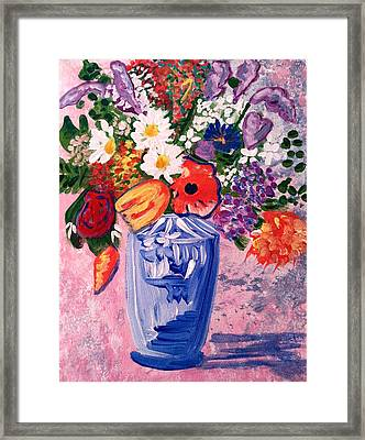 Mixed Floral   Framed Print
