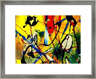 Mixed Media 104 Framed Print