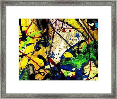 Mixed Media 106 Framed Print