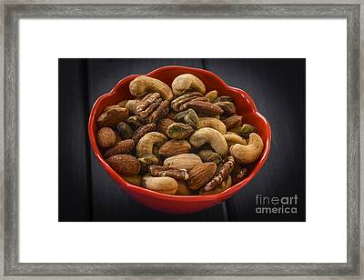 Mixed Nuts Still Life Framed Print by Vishwanath Bhat