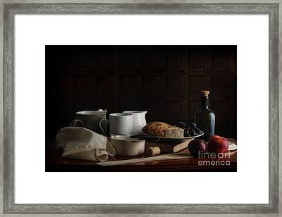 Mixed Up Meal Framed Print