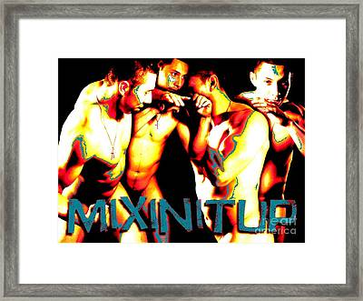 Mixin It Up Framed Print by Robert D McBain