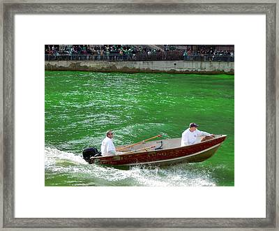 Mixing It Up Framed Print