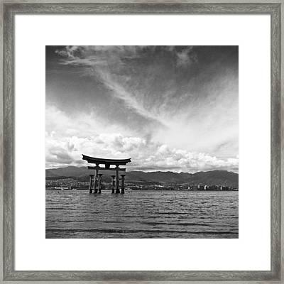 Miyajima Tori Framed Print