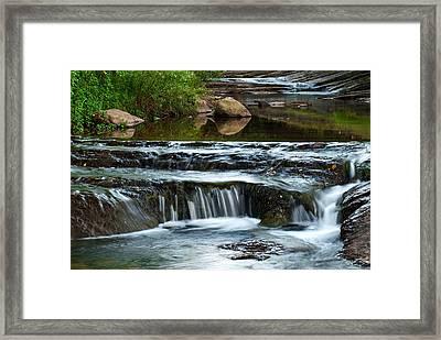Miykovska River 1 Framed Print by Art Mccaffrey