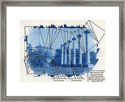 Mizzou Framed Print by Jane Linders
