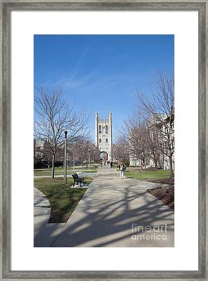 Mizzou Memorial Union Framed Print by Kay Pickens