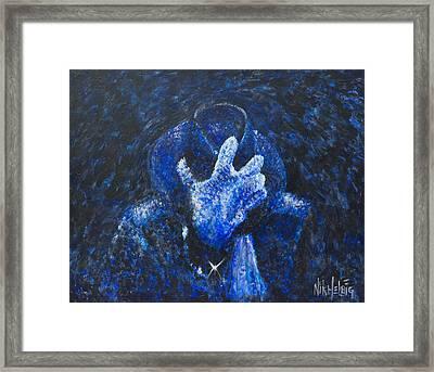 Mj Gone Too Soon Framed Print by Nik Helbig