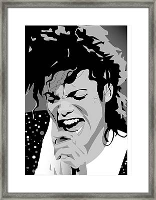 MJ Framed Print by Jayakrishnan R