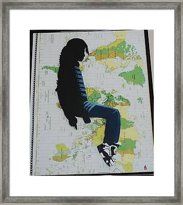 Mj They Dont Care Framed Print