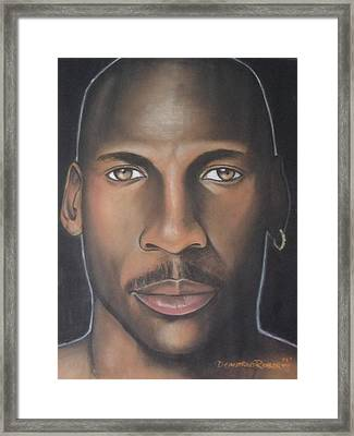 Mj23 Framed Print by Demitrius Roberts