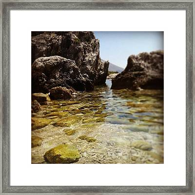Mlini - Croazia Framed Print
