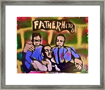 Mlk Fatherhood 2 Framed Print