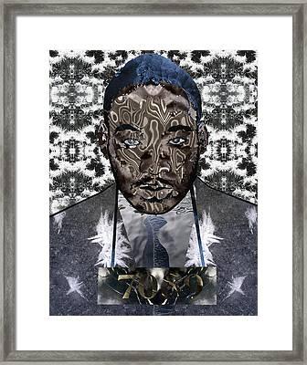 MLK Framed Print
