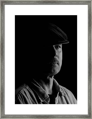 Framed Print featuring the photograph MM by Cecil Fuselier